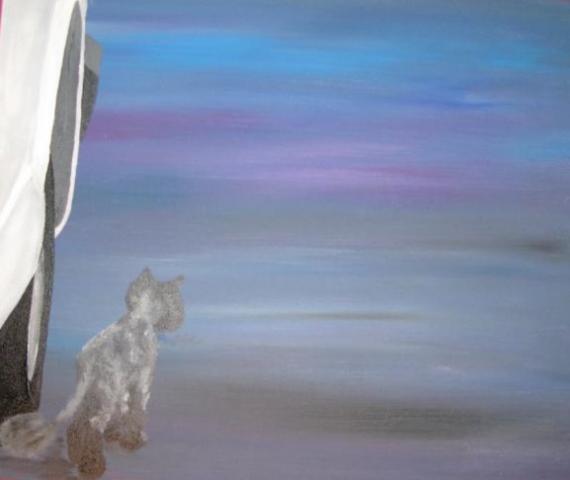 2012-06 Acryl auf Leinwandkarton 50x40 -HänschenKlein