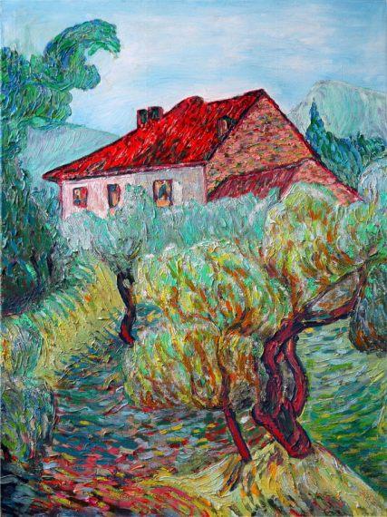 a la van Gogh