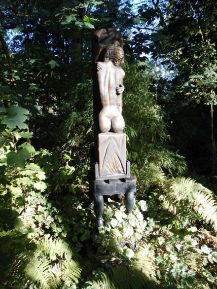Galerie Uricum in Skulpturen Garten