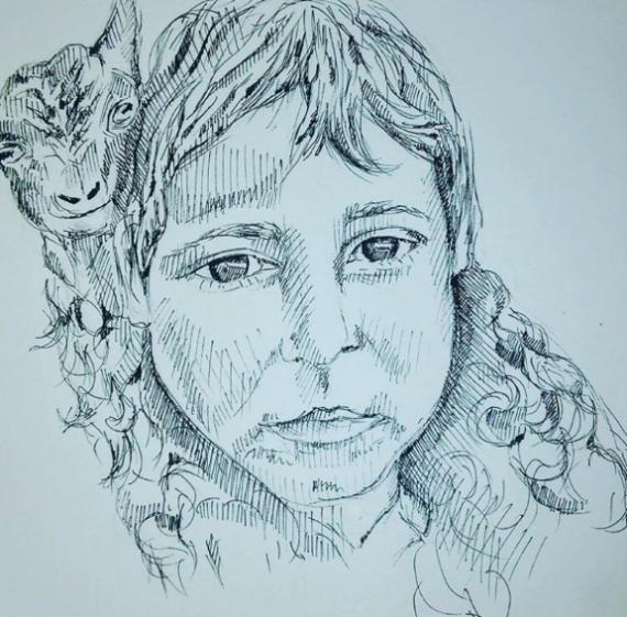 Human and animals