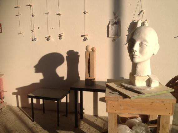 Bildhauer Helmut Jürjens Werkstattimpression1