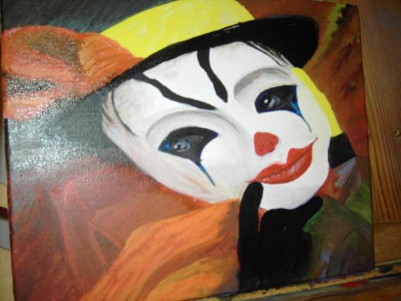 Clown, Melangoliek, Henk Doorenbosch | HEDOBOS-ART