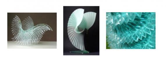 Kunstwerke aus Glas