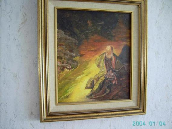 Jeremias_treurt_om_de_verwoesting_van_jerusalem_opdracht_naar_rembrand Henk Doorenbosch | HEDOBOS-ART