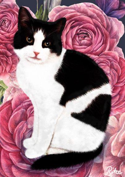 """Katzen-Portrait """"Marlon"""""""