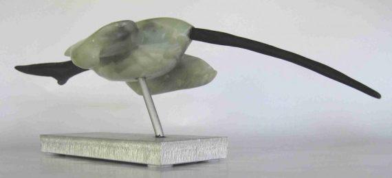 Vogel mit langem Schnabel