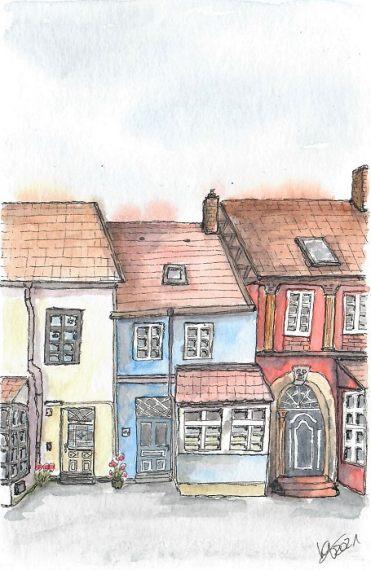 Lüneburg- katinkaart by Katja Timme