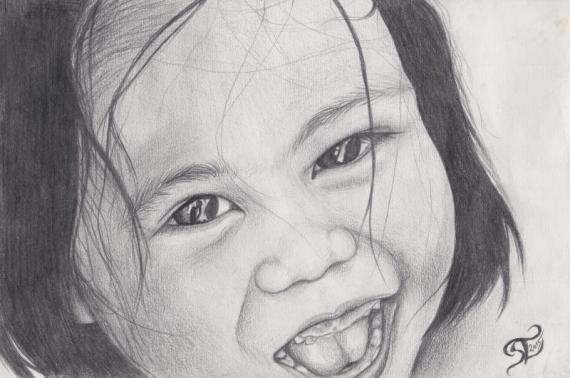 Philippinisches Mädchen