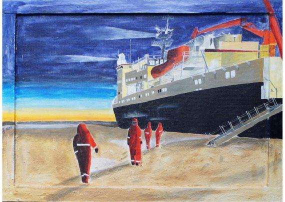 Polarstern im Einsatz