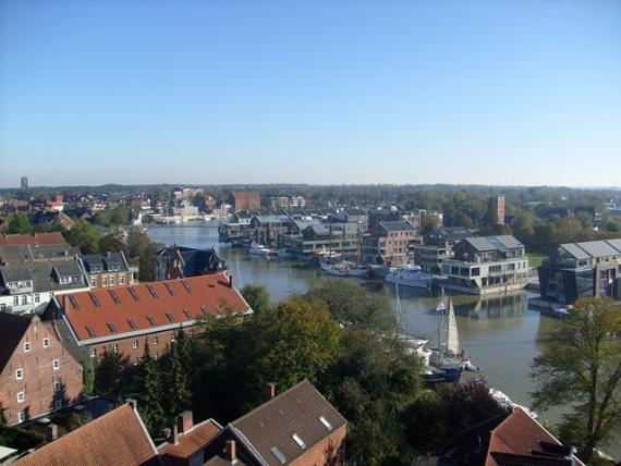 Blick vom Rathaus
