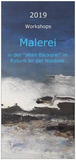 """Malerei in der """"alten Bäckerei"""", Krummhörn-Rysum"""