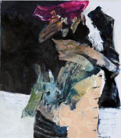 Grave, 2011, Acryl/Öl auf Leinwand, 115 x 100 cm