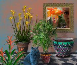 Photoshop Kunst, Rita Gil Brand 2019