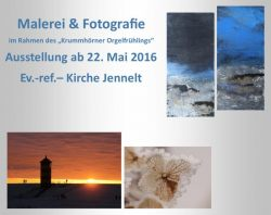 Ausstellung zum Krummhörner Orgelfrühling 2016
