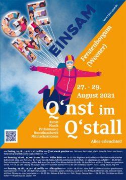 Kunstausstellungen und Programm 27. 9 - 29.9.2021 in Ferstenborgum (Weener)
